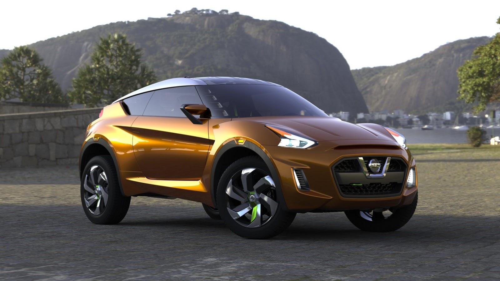 Фотогалерея концепт-кара Nissan Extrem